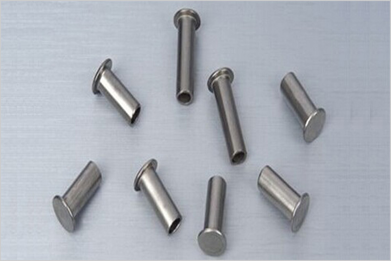brass solid hollow and semi hollow rivets, solid hollow and